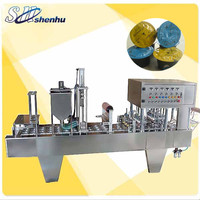 shanghai shenhu 2400pcs/hour cafe capsule packing machine
