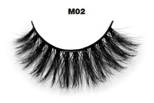Private label natural looking real horse fur horse eyelash for sale