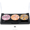 Eye Shadow Palette Shimmer Baked Powder Long Lasting Full Size Makeup