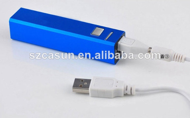 hot selling e cigarette power bank for mobile phone