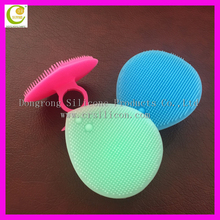 Antibacterial cleanser body scrub brush, NEW facial cleansing brush for deep pore cleaning,silicone body facial scrub brush
