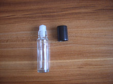 10ml Roll On Bottle Glass Frosted Refillable Roller Bottle Empty Glass Perfume / Essential Oils Vials