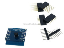 7 kinds D1 KIT WiFi board D1 Mini + DS18B20 + WS2812 + micro TF card + 1 channel relay + BMP180 + D1 DHT11