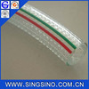 2mm Wall Thickness Non Smell Quality PVC Clear Braided and UN Reinforced Polyurethane Hose / Braided Vinyl Tubing