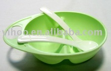 Plastic Baby Bowl Set chinese soup bowl and spoon set