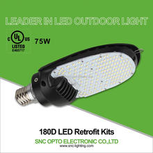 75W LED Retrofit kits for parking lot lighting and sideway lighting
