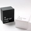 Exquisite box for packaging gift mug box