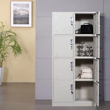 Gym Widely Used 8 Doors Steel Lockers, Clothes Wardrobe