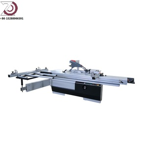 Precision sliding table saw with scoring saw blade for furniture CE and ISO9001 certificate