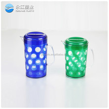 wholesale world cup soccer ball plastic drinking cup with handle halloween cup