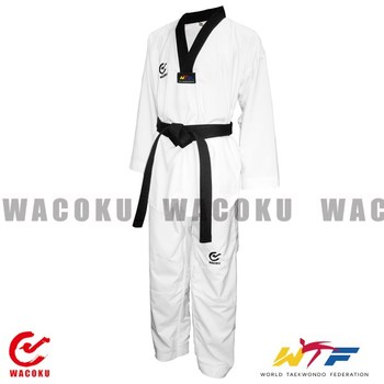 WTF Approved diamond line light weight Taekwondo Uniform/ WTF approved Taekwondo gi/ TKD competition unifrom