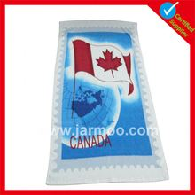 Wholesale CUSTOM double sides printed micro towels large