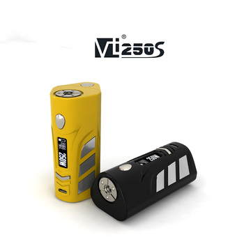 HCigar newest temp control dna box mod VT250s 250w box mod