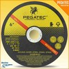 "PEGATEC 6"" 150X1.6X22mm Abrasive Cutting Tools"