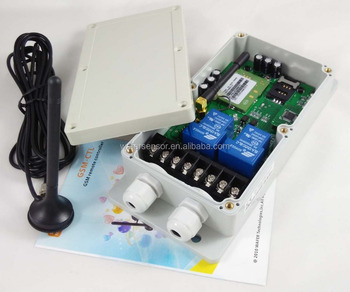 GSM remote control switch box