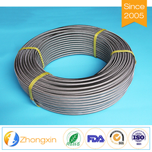 Flexible Compression-resistant motorcycle fiber bradied teflon fuel line tube oil hose