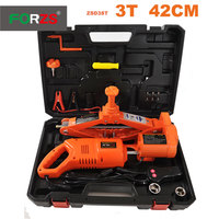 Portable 3 ton electric car jack and wrench impact in 1 tool jack+inflator+impact with good price