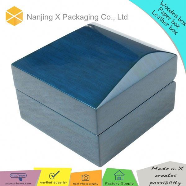 New style box X80 wholesale jewelry wood watch box packaging box
