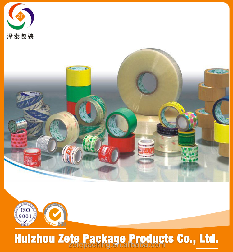 China suppliers custom logo bopp adhesive tape