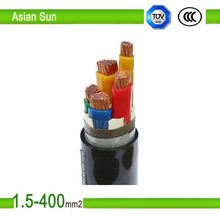 underground electrical armoured cable 5 core power cable 35mm 50mm 70mm 95mm 120mm 240mm power