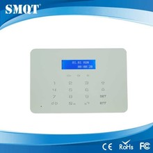 EB-838DP GSM PSTN LCD Display Wireless Home Security Alarm System