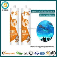 Waterproof Antifungal Aquarium Glass Silicone Sealant Adhesive Glue