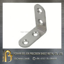 custom hot selling products sheet metal stainless steel countersink angle bracket china manufacture