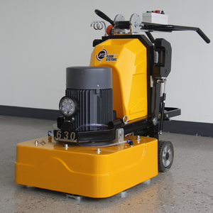 Terrazzo floor grinder price, dust free epoxy resin grinding machine, concrete floor grinder