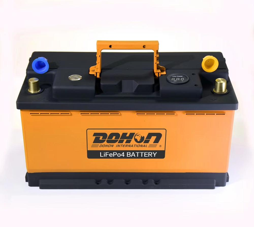 2 years Warranty and 12V 100-20 Voltage Car Battery Automotive lithium Battery for car, truck, boat, motorcycle