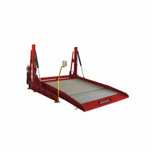 Outdoor workshop car parking hydraulic lifts for car washing