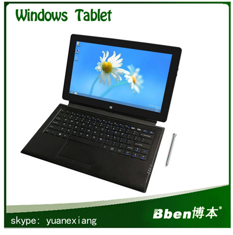 Hot selling 11.6 inch Tablet with bluetooth Russian keyboard windows 8 tablet pc Dual core Dual camera 8G DDR3+128G SSD