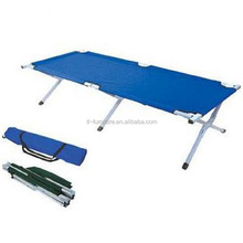 Hot-sale durable camping bed more convenient portable cot folding bed in summer