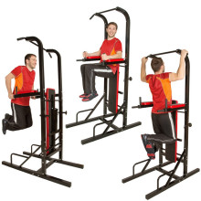 Folding Fitness Equipment Pull Up Tower Sit up Bench Power Tower