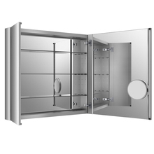 Modern Dressing Mirror With Cabinet