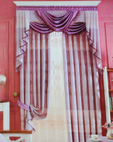 100% Polyester Luxury Blackout Jacquard Curtain Fabric