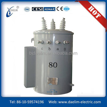 10kva single-phase pole-mounted distribution transformers with high quality and low price