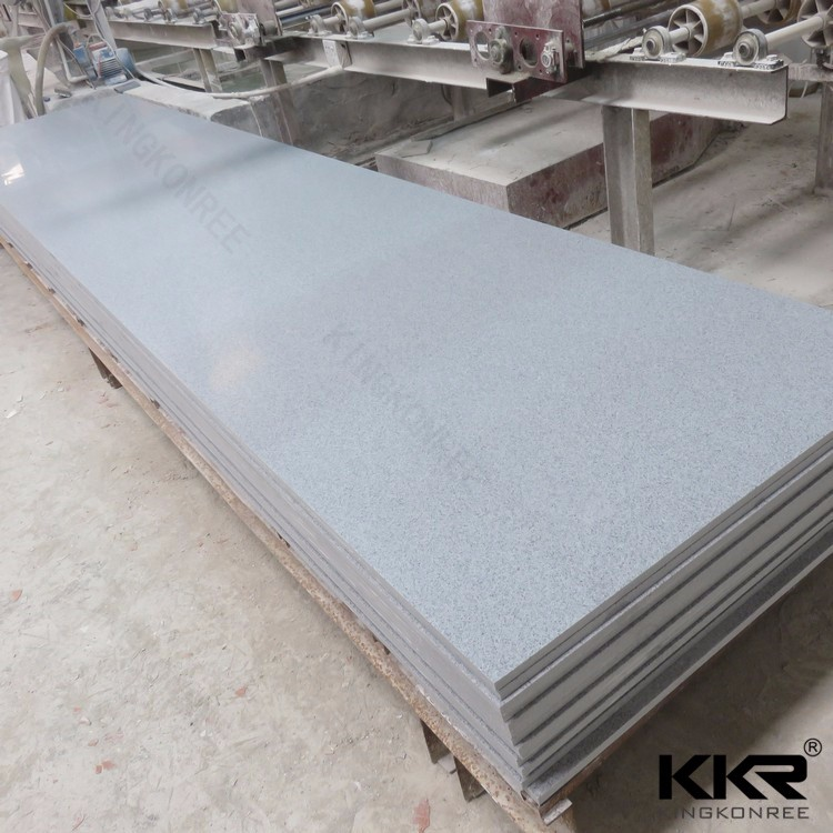 imitation stone solid surface thin sheet for building
