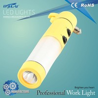 CE & RoHS approved multifunctional commercial motor vehicle safety emergency hammer light