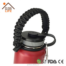 Wholesale Double Wall Vacuum Insulated Stainless Paracord Handle Hydro Flask