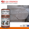 adhesive sealants to marble crack repair block glue applicator