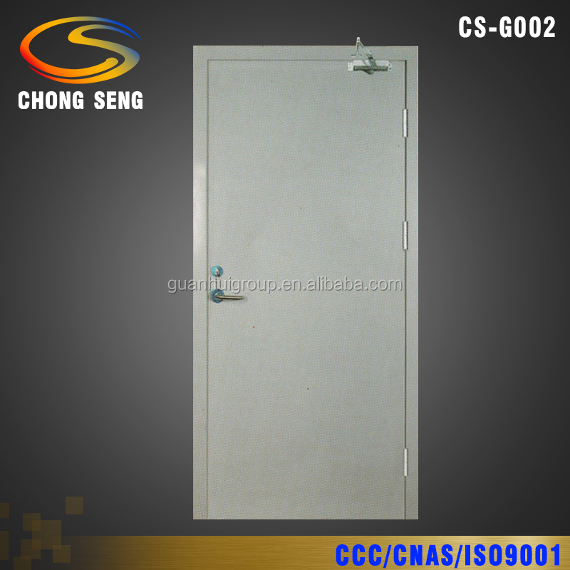 120 Mins Insulated Sectional Galvanized Steel Fire Doors