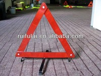 First Class Auto Red Warning Triangle