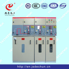 SF6 gas insulated Ring Main Unit Switchgear Cabinet