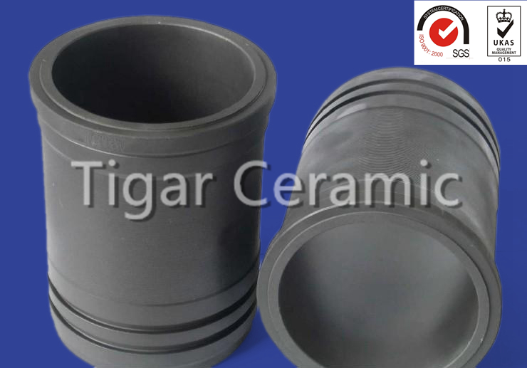 Silicon Carbide/SiC Parts For Magnetic Pump Bushing