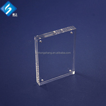 Good Quality Factory Wholesale 4 x 6 Clear Acrylic Block Picture Frame Photo Frame with Magnetic