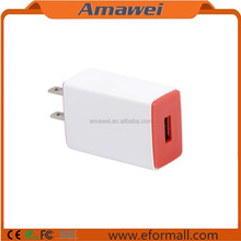 Hot US Plug USB Home Wall Charger Power Adapter 5V 1A For iPhone 5 6 7 7plus