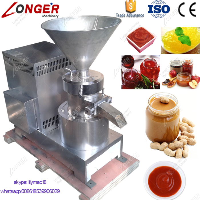 Factory Price Cocoa Bean Grinder Making Chili Sauce Pepper Grinding Machine