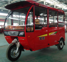 2017 powerful passenger three wheel tuk tuk enclosed tricycle with covered for sale