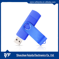 MFI license manufacturer best quality real capacity USB2.0 Interface Type 32GB/64GB/128GB otg micro usb flash drive USB 3.0 OTG