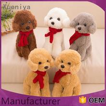 personal wholesale made in china promotional plush woven dog toy
